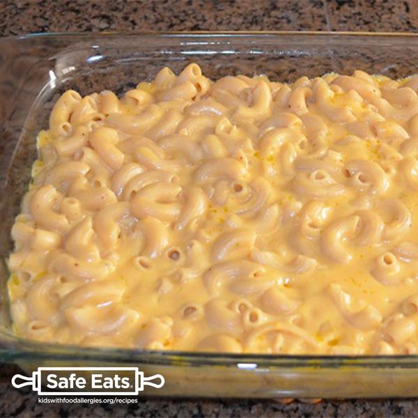 Milk-free macaroni and cheese
