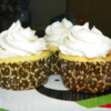 Lemon cupcakes free of dairy, egg, soy, corn and nuts