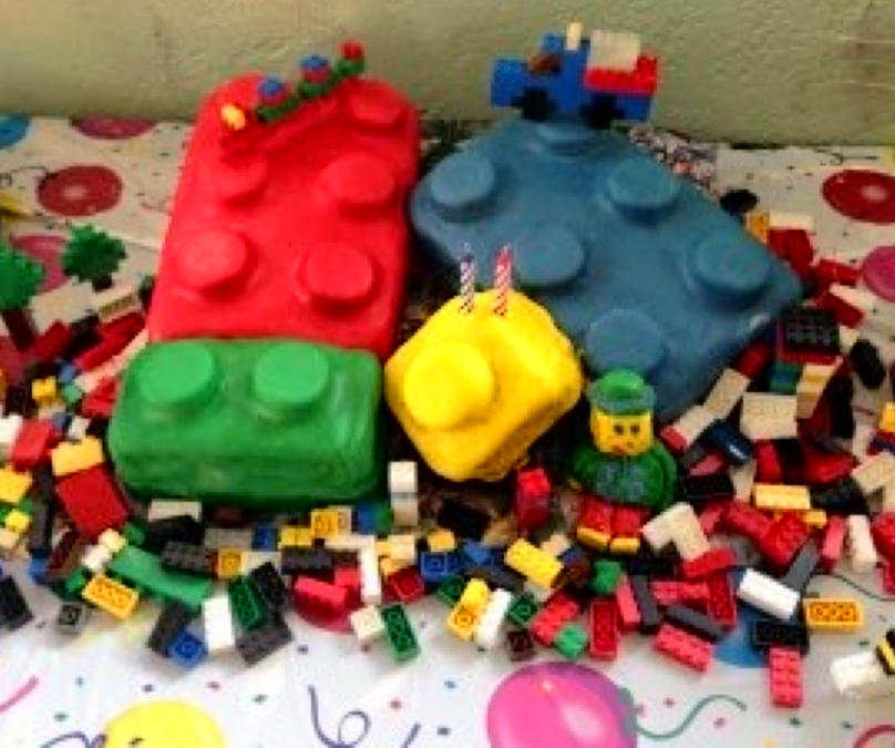 G's 2nd Bday Lego Cake! (MEP)