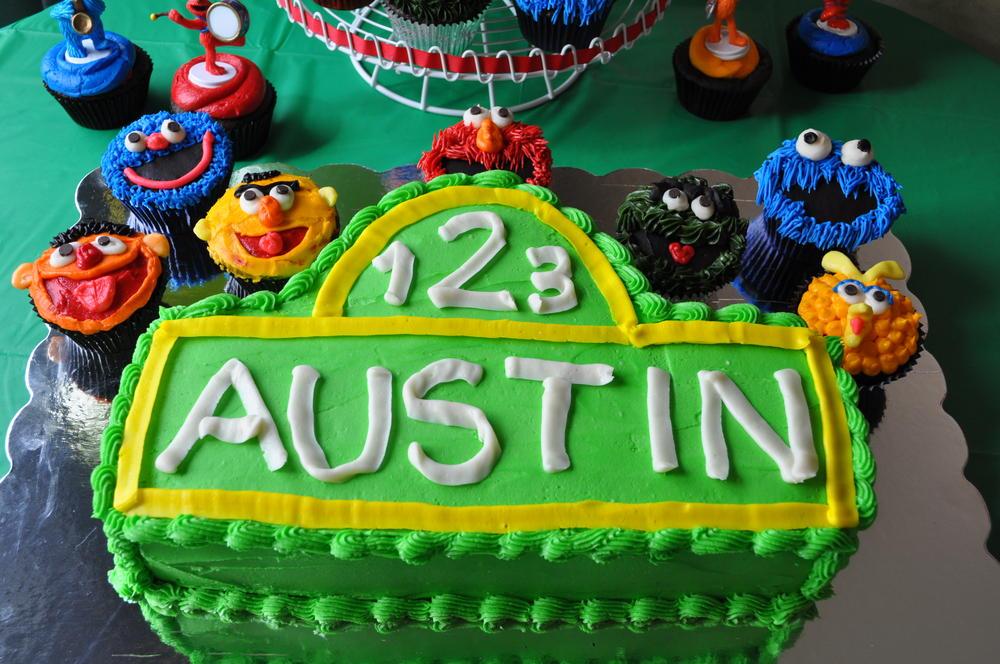 Son's 2nd Birthday cake
