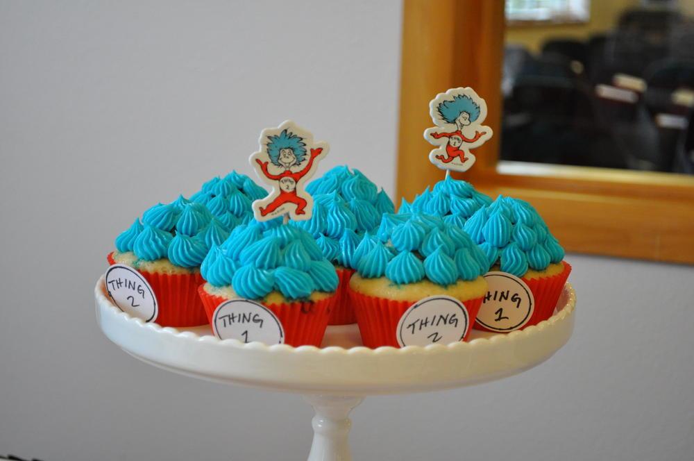 Dr Seuss themed preschool graduation party