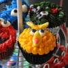 Cupcakes for the Sesame Street loving kid