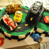 Cars 2 cake for birthday