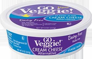 GO Veggie Dairy-Free Vegan Cream Cheese - Plain