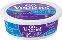 GO Veggie Dairy-Free Vegan Cream Cheese - Plain