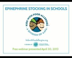 Stocking Epinephrine in Schools: Policy Issues and Approaches
