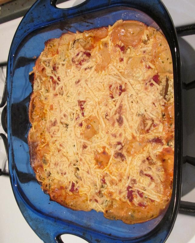 dairy-free baked pasta