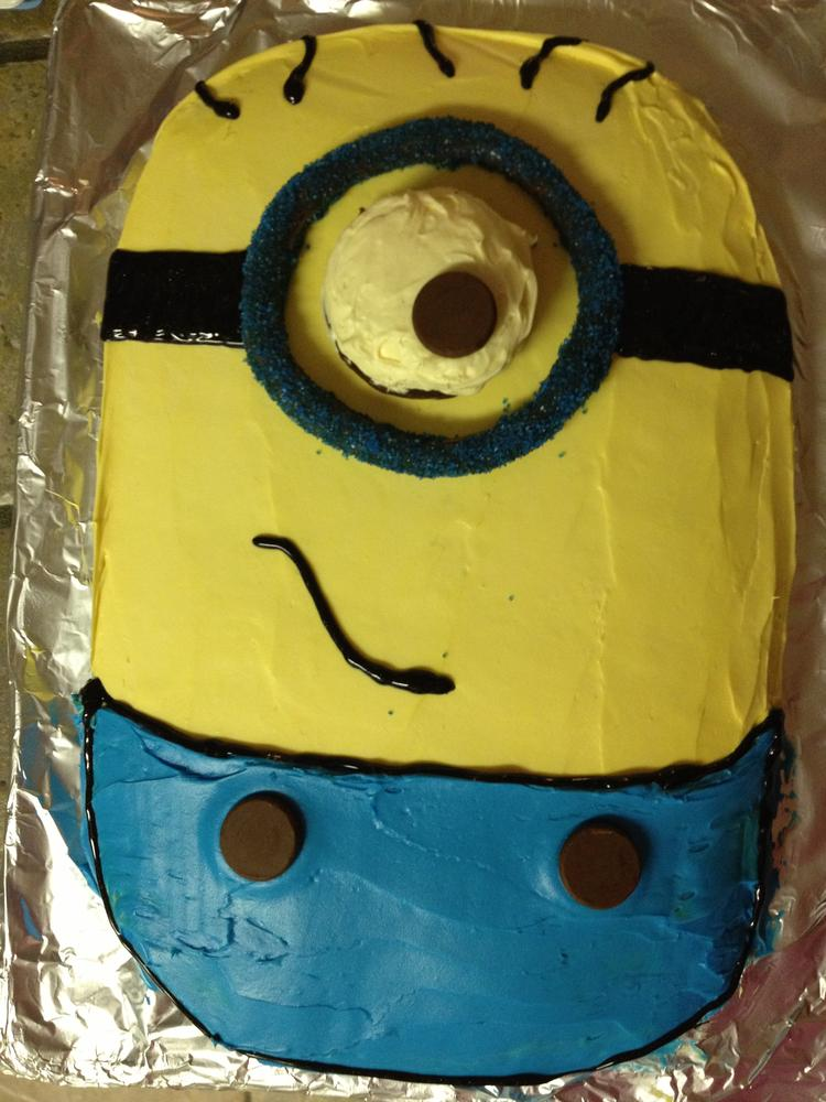 Minion Cake Kids With Food Allergies