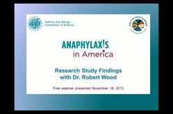 Anaphylaxis in America: A Look at the Landmark Study for Parents and Patients