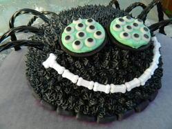 Halloween Spider Cake!