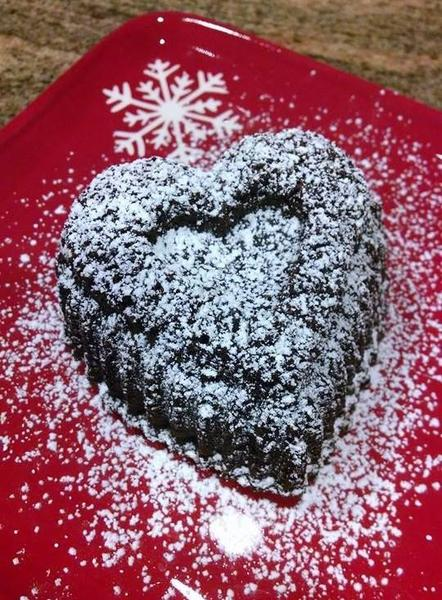 Valentine's Black Forest Brownie Torte