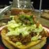 Tostada - gluten and dairy free