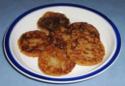 Passover Pancakes - egg & dairy free