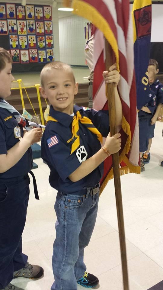 Cub Scout Advancement Ceremony