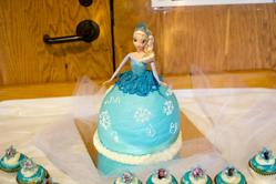 Abbie's Home Made Elsa Cake