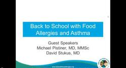 Back to School with Food Allergies and Asthma