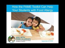 Food Allergy Management and Education Toolkit for Schools