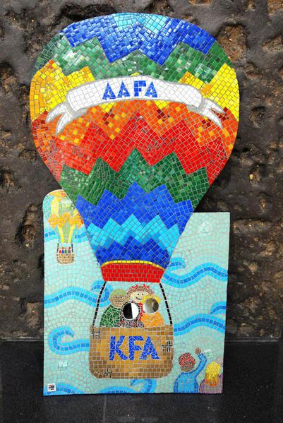 AAFA-KFA 10th aniversary mosiac
