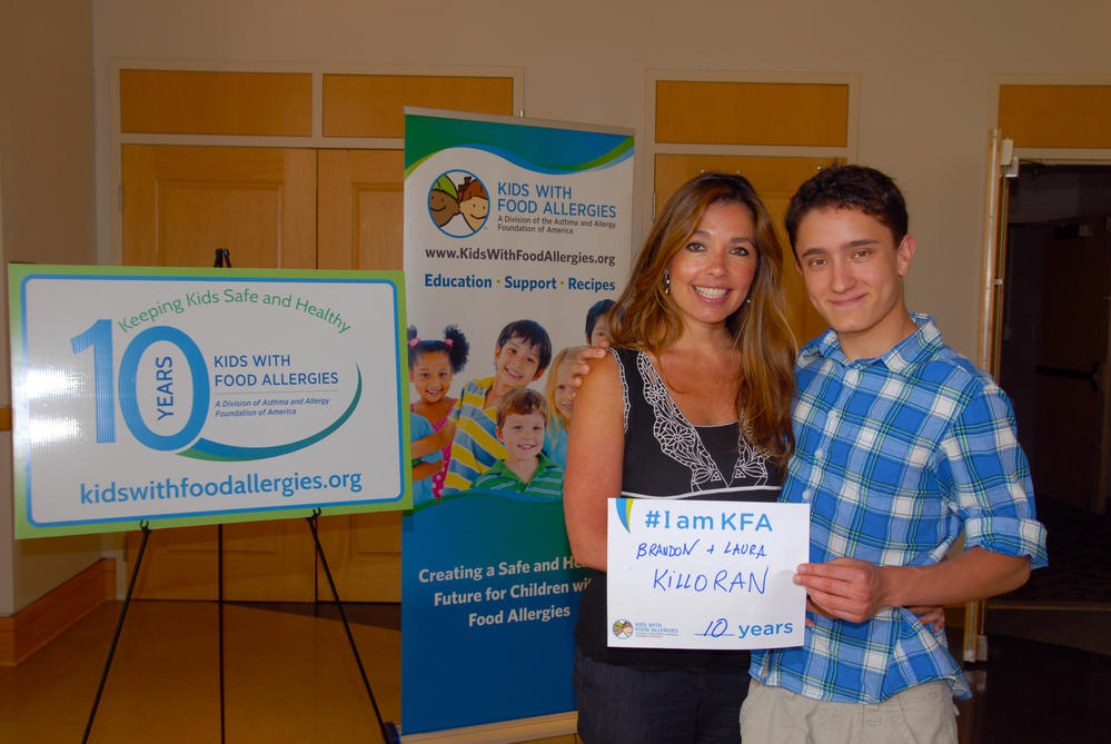 Laura & Brandon Killoran 10 years #IamKFA