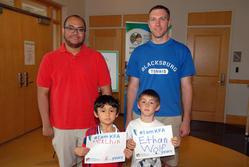 Alexx Chin & Ethan Wolf 6 years #IamKFA