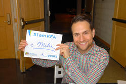 Mike Tringale 2 years #IamKFA