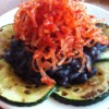 Fiery Kelp Salad with Black Beans