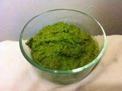 Milk-Free, Nut-Free Sorrel Pesto