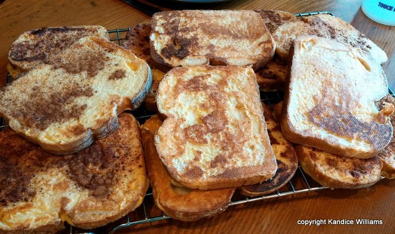 VeganEgg french toast