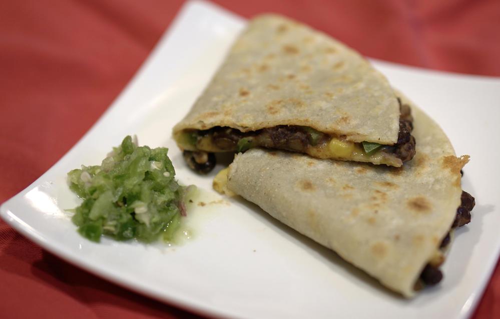 Crispy Black Bean Tacos