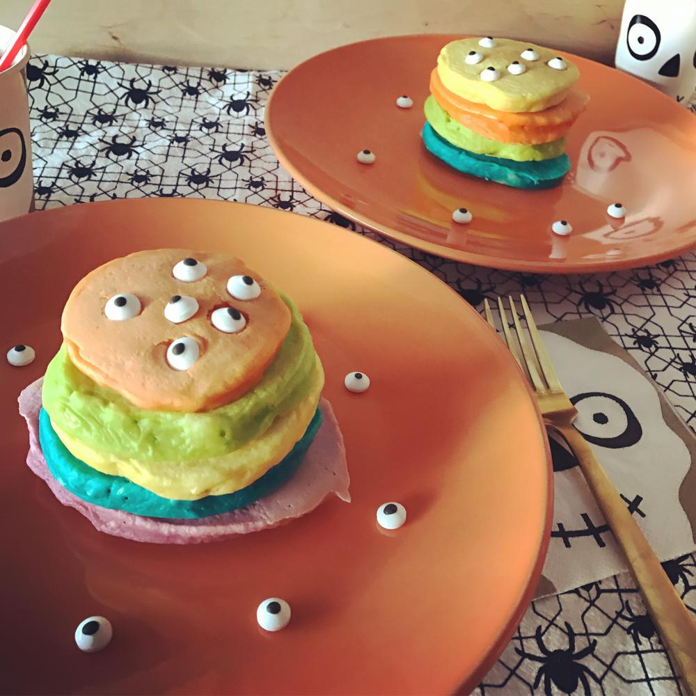 (Allergy-Friendly) Monster Eye Pancakes!
