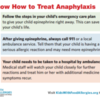 Know How to Treat Anaphylaxis