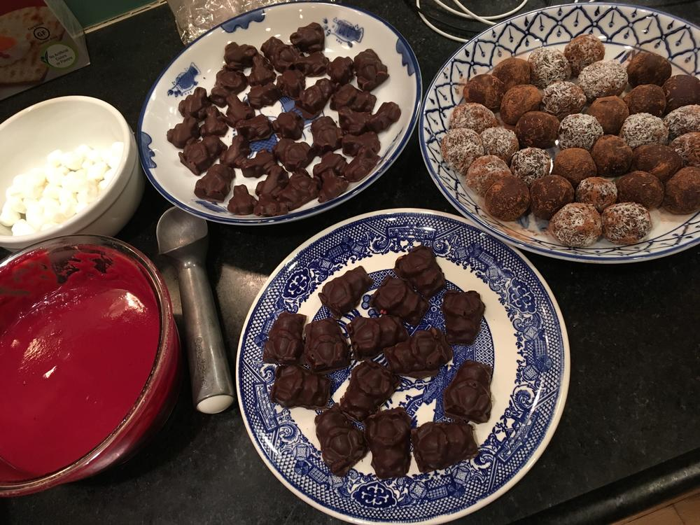 dairy, egg, nut, and gluten free chocolates