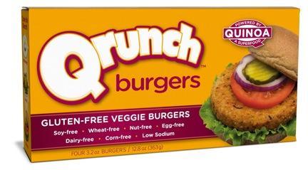 Qrunch Quinoa Veggie Burgers