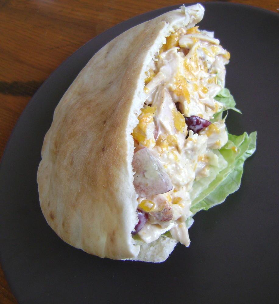 Milk Free Egg Free Fruity Chicken Salad
