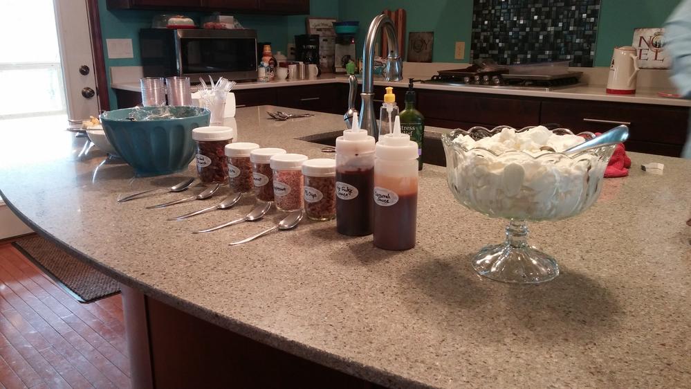 Christmas Trifle Bar
