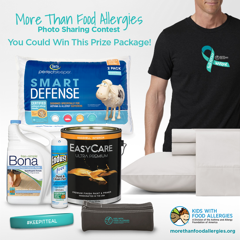 Enter the More Than Food Allergies Photo Contest to win this prize package