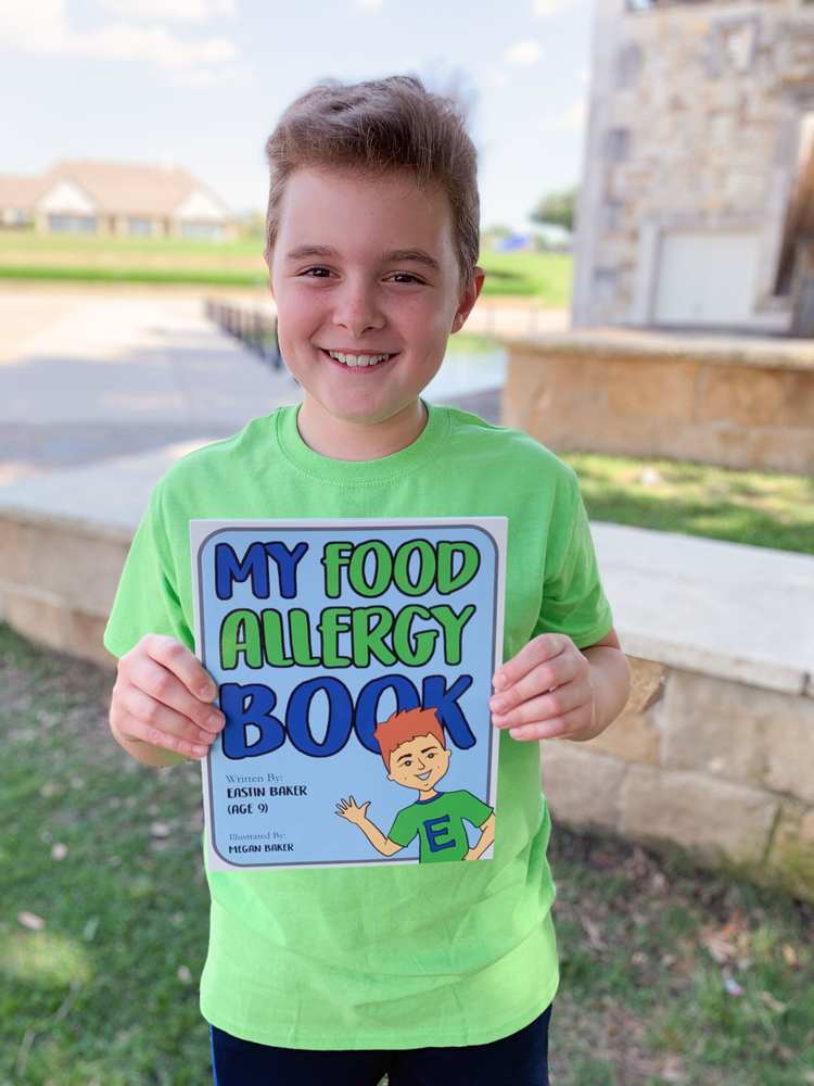 Writing to Help Kids not Fear their Food Allergies