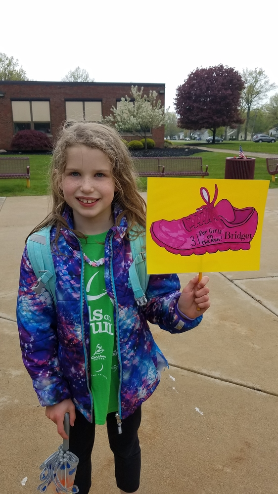 Bridget, Girls On The Run even with Food Allergies