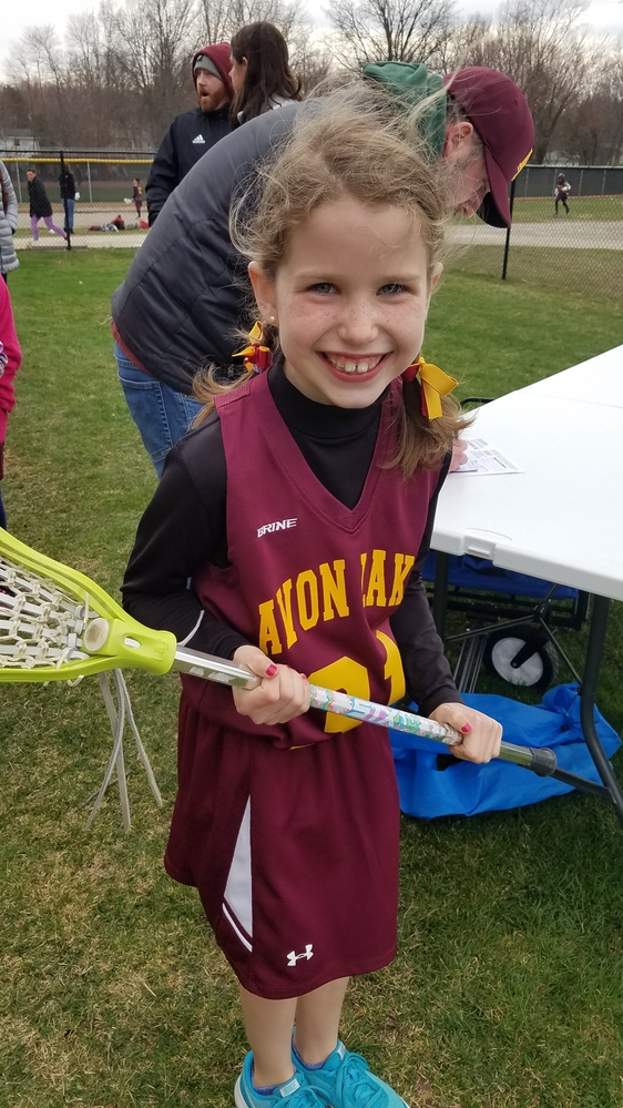 Bridget - lacrosse player!