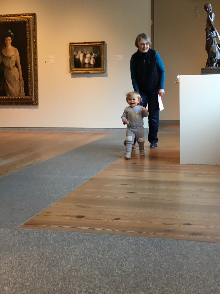 Art Museum Walks with Grandma