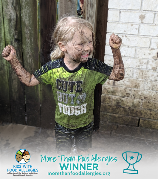 Mason shows he's #morethanfoodallergies & FPIES  - Photo Contest Winner #1