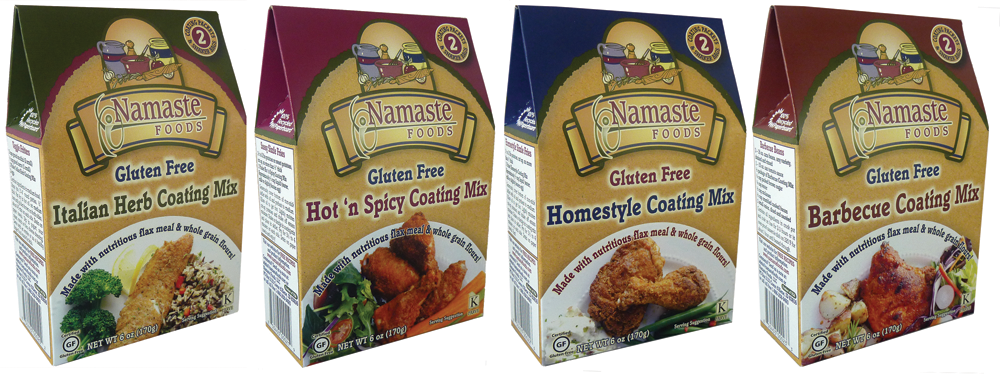 Namaste Foods Spice Coatings (Gluten-Free, Allergy-Friendly)
