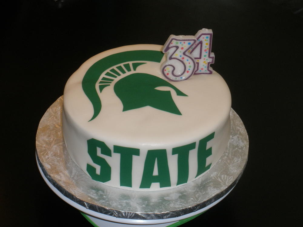 Michigan State Cake Free Of Dairy Egg Peanuts And Tree