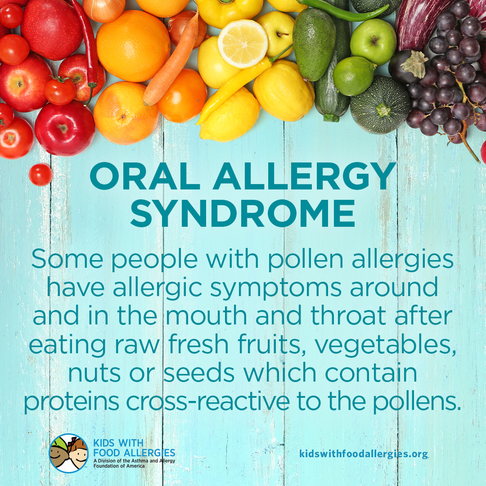 Food Allergy Education: Oral Allergy Syndrome