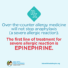 Food Allergy Education: Use Epinephrine First