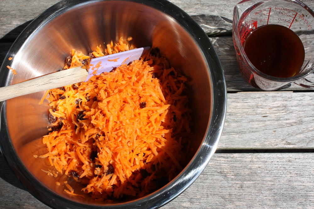 Fruited Carrot Salad by Linda Coss