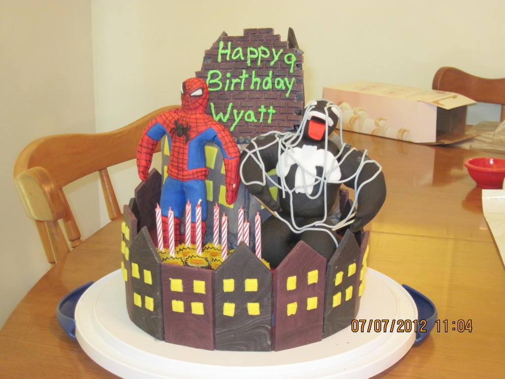 Spiderman and Venom Kids With Food Allergies