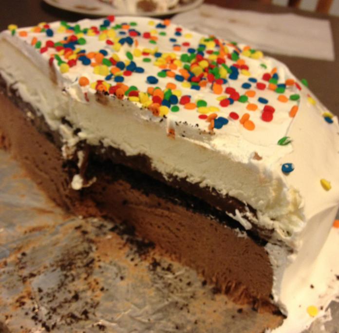 Nut/Egg Free Ice Cream Cake