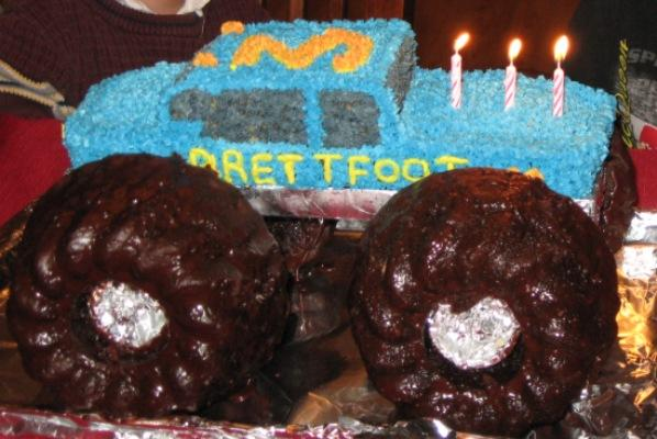Monster Truck Cake Free Of Milk Egg And Nuts Kids With