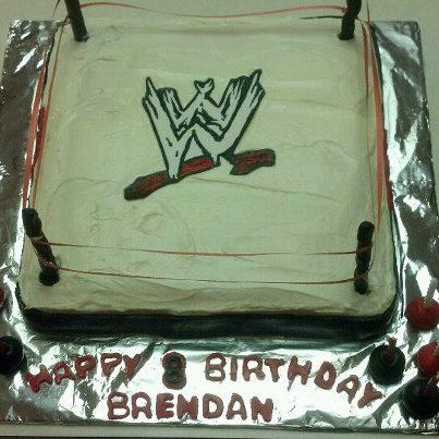 Wrestling Cake free of egg, nuts and dairy